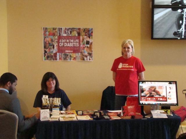 ADANT Donna Bauder at health fair