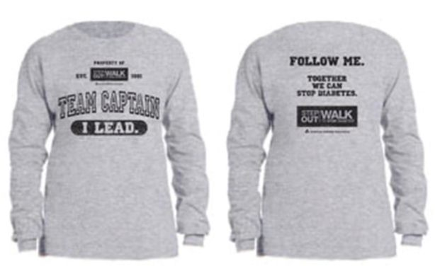 Team Captain long sleeve shirt